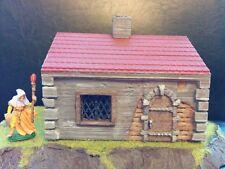Medieval House Terrain Warhammer D&D 28mm Fantasy Wargame 25mm LOTR Frostgrave