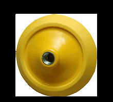 """Backing Plate Lake Country 4 7/8"""" (125mm)  For Rotary Buffer for 5"""" to 6.5"""" Pads"""