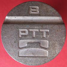 Telephone token jeton - Slovenia - PTT - B token - ISKRA