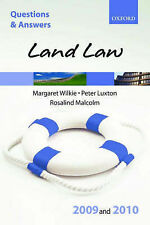 Very Good, Q&A: Land Law 2009 and 2010, Wilkie, Margaret, Luxton, Peter, Malcolm