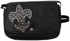 Western Speicher Handtasche Tasche Leder Strass Swarovski Elements DL104