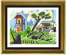 "Pablo Picasso Signed/Hand-Number Ltd Ed ""Paysage de Vallauris"" Litho (unframed)"
