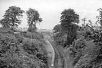 PHOTO  BROOMIEKNOWE RAILWAY STATION REMAINS 1962
