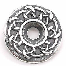 "Celtic Bezel Concho in Antique Silver 3/4"" 7785-02"