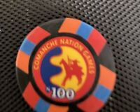 APACHE NATION CASINO ,  $100 CHIP , INDIAN  CASINO