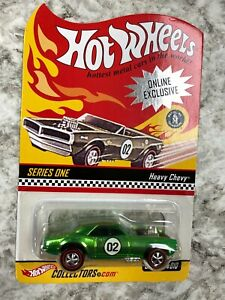 Hot Wheels Redline RLC Series 1 Heavy Chevy Green Adult Collectors Toy Car