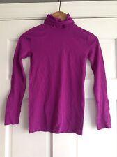 United Colors of Benneton Long Sleeve Purple Turtleneck Womens OS