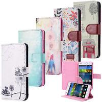 Cartera Flip Case Wallet Cover Motivo funda bolsa Huawei