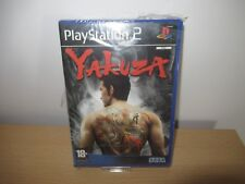 PS2 Yakuza spanish  Pal, New & Factory Sealed