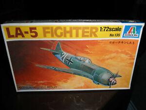 1/72 LA-5 German/Soviet Fighter by Italeri SEALED!