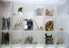 Jewelry Earring Findings Connectors Clasps Jump Rings Spacer Beads Chain