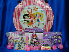 PowerPuff Girls Party Set # 12 P Napkins Invites Tablecover Balloon Blowouts