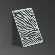 Zebra Stencil Animal Print Mylar Sheet Painting Wall Art Kids Craft 190 Micron