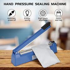 More details for 200/300 mm hand impulse heat heating sealer plastic bag film sealing machine uk