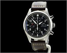 Men's IWC Schaffhausen Fliegeruhr Flieger Spitfire Automatic Chronograph Watch