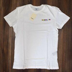 Authentic Vetements Mens T Shirt Off White Size L Model FY18-3182 New