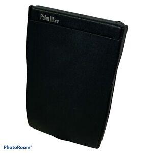 Palm Pilot IIIxe III 3 xe Vintage LCD Organizer Digital Stylus And Case Working