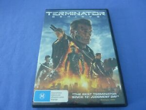 Terminator Genisys DVD Arnold Schwarzeneger Jai Courtney R4 Free Postage
