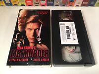 Mr. Murder TV Movie Sci Fi Thriller VHS 1998 Stephen Baldwin Kaley Cuoco 90's