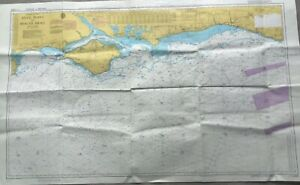 Vintage Admiralty Chart (1983) Anvil Point to Beachy Head 2450 Isle of Wight