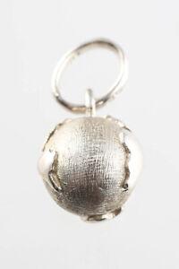 Links of London Sterling Silver Globe Charm