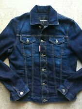 Super Cool! Dsquared2 Classic Men's Blue Denim Jacket_Size 46_S_Made in Italy