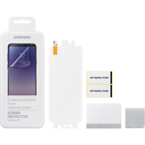 Genuine Original Samsung Screen Protector suits Samsung Galaxy S9+ 2 Pack