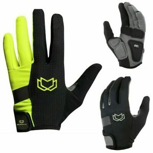 WFX Mountain Bike Bicycle Cycling Full Finger Gloves BMX MTB Riding Touchscreen