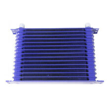 15ROW 10AN POWDER-COATED ALUMINUM ENGINE/TRANSMISSION OIL COOLER