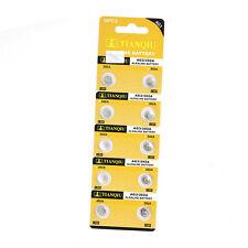 10PCS/set AG3 LR41 392 SR41 192 1.5V Alkaline Button Coin Cells Watch Battery