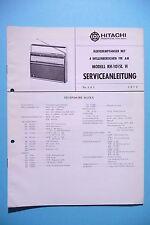 Manuel de reparation pour Hitachi KH-1015 L ,ORIGINAL