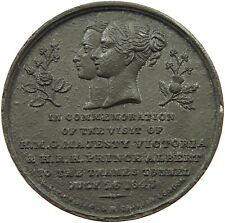 GREAT BRITAIN MEDAL THAMES TUNNEL 1843 39MM 18.3G #p60 687