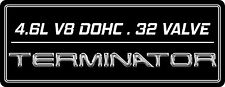 Mustang Cobra 4V [S2] Coil On Plug Cover Aluminum Plate - TERMINATOR_DISPLACEMT