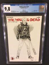 WALKING DEAD #163 Comic CGC 9.8 RI 1:500 B&W Sketch Variant NEGAN Death of Paula