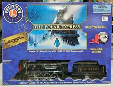 Lionel Ready to Play The Polar Express with Santa's Bell Train Set