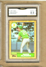 Mark McGwire-1987 Topps Rookie-#366-Graded Card-A's-8.5-NM-MT+