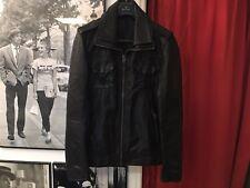 Rare Superdry 500€ Leather Jacket Size L ( EU 52 )