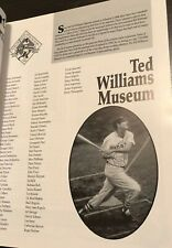 RARE 6th ANV. TED WILLIAMS MUSEUM YOGI BERRA STEVE CARLTON CARL YASTREMSKI HOF