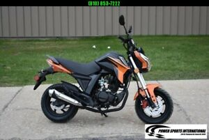 2021 LIFAN KP MINI 150 E-Start Motorcycle 65mph HONDA GROM KILLER ORANGE NICE!!