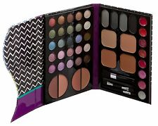 Technic Complete Face & Eyeshadow Palette Matte Shimmer+ Brush Make-up Set 95213