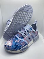 Adidas NMD R1 J Easter Tie dye Blue Women's Size 4.5 EF2300 New