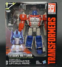 TRANSFORMERS GENERATIONS Titans Autobot Apex & Powermaster class L Optimus Prime