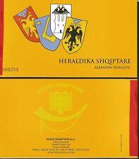 Albania 2006 Rare Booklet Albanien Heraldic 16 MNH** stamps inside