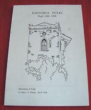 ALBENGA-HISTORIA PULEI-POGLI 1288-1988-PLURICLASSE POGLI-FALCO-PISANO-VILLA
