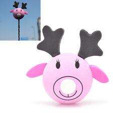 Cute Pink Elk Antenna Topper Eva Decorative Topper Balls for Cars Christmas N Tw