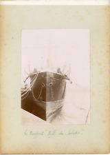 "France, Bretagne, Le transport ""Notre-Dame du Salut"", ca.1900, vintage citrate p"