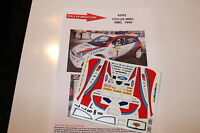 DECALS 1/43 FORD FOCUS WRC JEAN JOSEPH RALLYE MONTE CARLO 1999 RALLY MONTECARLO