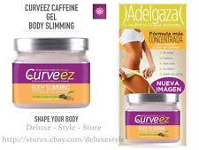 REDUCING FAT CAFFEINE GEL BODY SLIMMING 16 oz by Curveez, GEL DE CAFEINA CO'COON