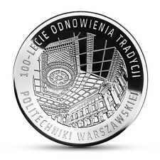 Poland / Polen - 10zl 100 Years of Warsaw University of Technology