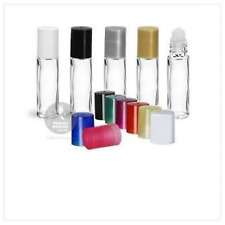 EMPTY LIP GLOSS, 10 ML AROMATHERAPY ROLLERBALL BOTTLE GLASS VIALS SAMPLE
